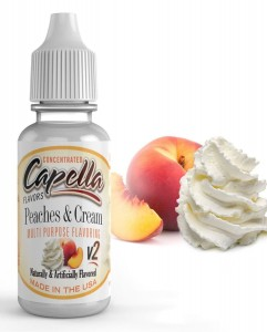 Capella Peaches and Cream